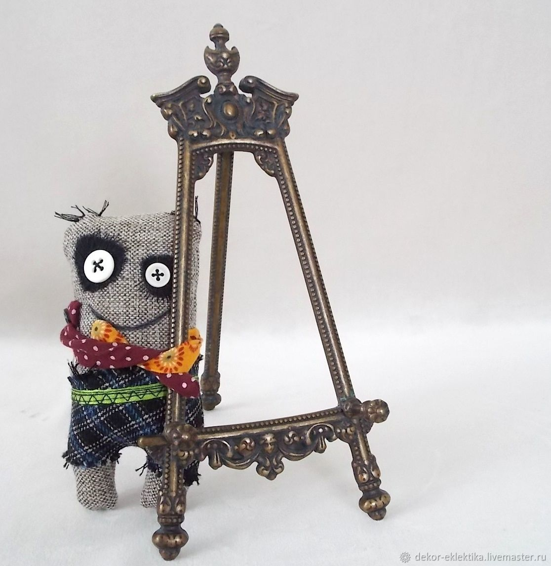 Текстильная игрушка Братец-монстрик , чердачная игрушка, Игрушки, Магнитогорск, Фото №1