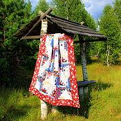 """Для дома и интерьера ручной работы. Ярмарка Мастеров - ручная работа """" СУДАРУШКА """" лоскутное одеяло.. Handmade."""