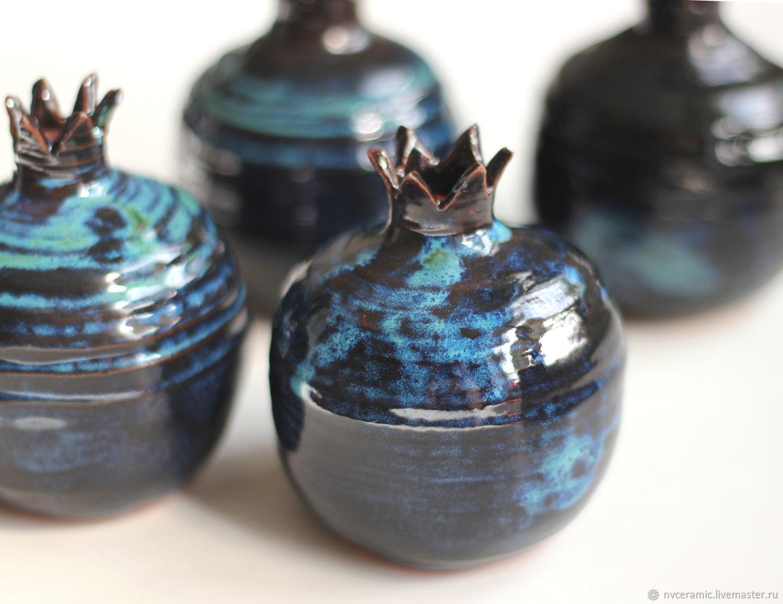 Вазы ручной работы. Ярмарка Мастеров - ручная работа. Купить Гранаты-вазы. Handmade. Керамика, Декор, керамика ручной работы