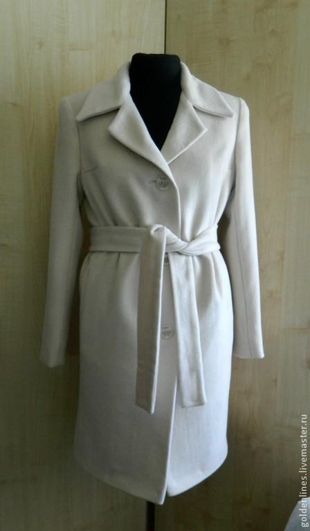 Верхняя одежда ручной работы. Ярмарка Мастеров - ручная работа. Купить пальто-оверсайз 4. Handmade. Белый, пальто из шерсти