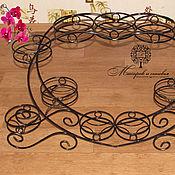 Цветы и флористика handmade. Livemaster - original item Stand Wide Heart on 11 plates. Handmade.