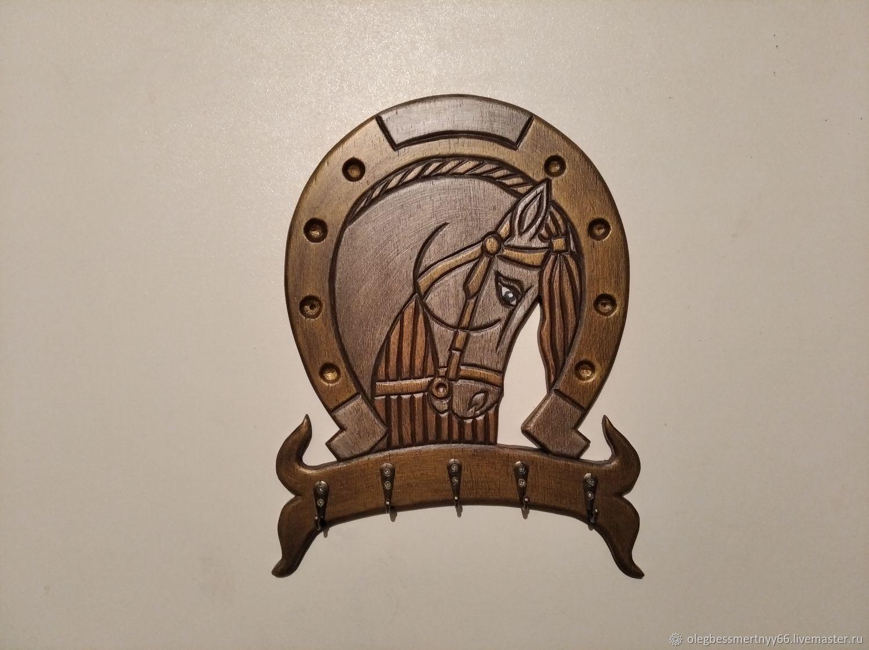 Лошадка Золотая Грива, Ключницы настенные, Железноводск,  Фото №1
