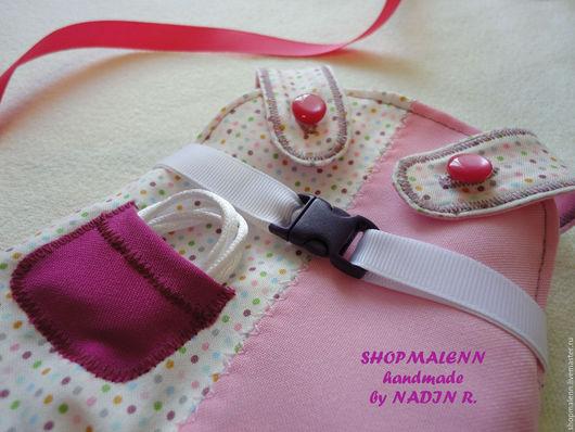 Развивающие игрушки ручной работы. Handmade by Nadin R. Интернет-магазин Ярмарка Мастеров. Купить одежду для игрушек. Комбинезон для игрушки.