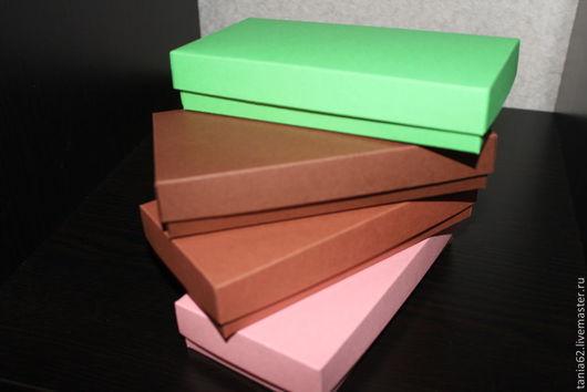 Упаковка ручной работы. Ярмарка Мастеров - ручная работа. Купить Коробочки 8-16. Handmade. Разноцветный, коробка подарочная, Стильная