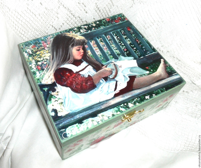 Box thread Embroiderer, Box, Novosibirsk,  Фото №1