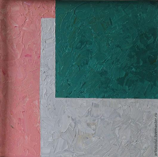 Абстракция ручной работы. Ярмарка Мастеров - ручная работа. Купить Абстрактная живопись. Ч1.. Handmade. Изумрудный, абстракция, стиль, персонаж