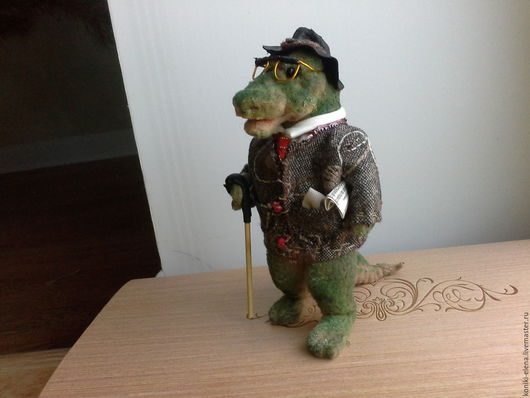 Игрушки животные, ручной работы. Ярмарка Мастеров - ручная работа. Купить Крокодил Коша. Handmade. Хаки, игрушка в подарок