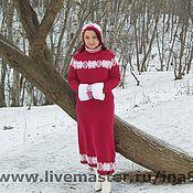 Одежда handmade. Livemaster - original item Knitted cashmere set of