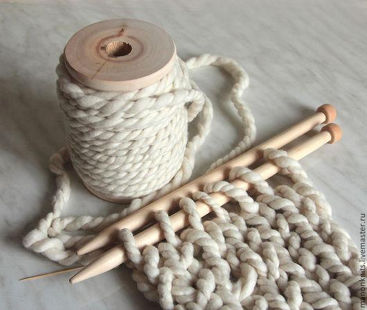 Вязание ручной работы. Ярмарка Мастеров - ручная работа. Купить Пряжа  для вязания ГУЛЛИВЕР  толстая пряжа ручного прядения. Handmade.