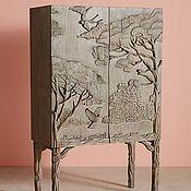 Для дома и интерьера ручной работы. Ярмарка Мастеров - ручная работа Шкаф резной. Handmade.