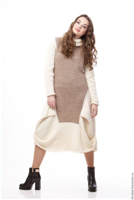 Вязаное платье, платье вязаное, трикотажное платье, платье трикотажное, шерстяное платье, платье шерстяное, зимняя мода, теплое платье, платье теплое, вязаная одежда, повседневное платье
