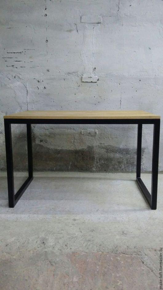 Мебель ручной работы. Ярмарка Мастеров - ручная работа. Купить Стол на кухню в стиле Лофт. Handmade. Коричневый, индустриальный