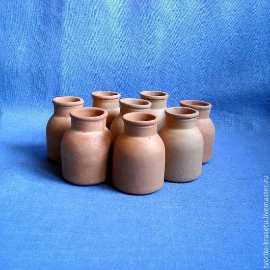 керамические баночки для специй, заготовка для декупажа и росписи.