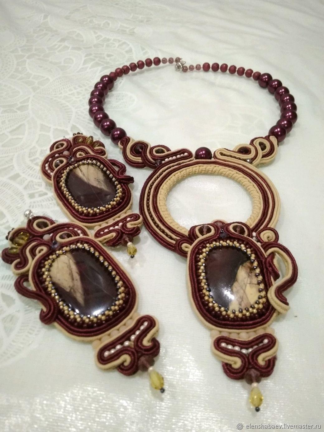 Soutache set, Jewelry Sets, Blagoveshchensk,  Фото №1