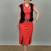Одежда handmade. Livemaster - original item Author lace vest. Handmade.