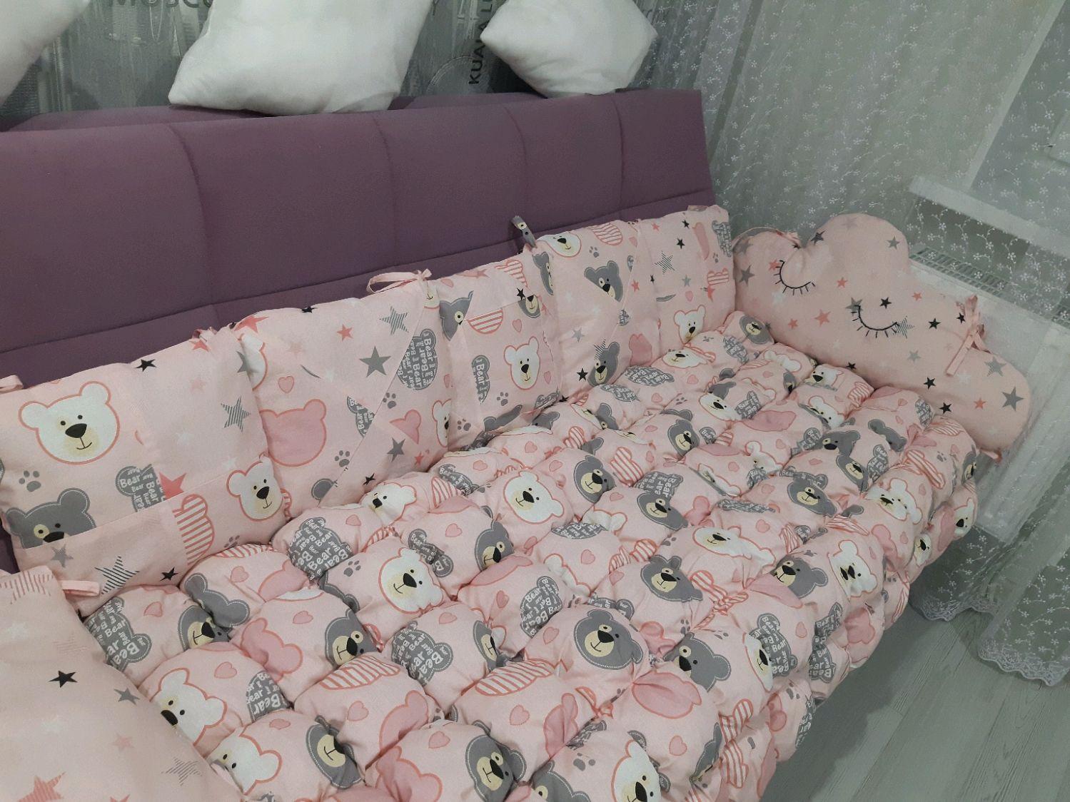 Одеяло бон-бон, бортики, постельное белье, одеяло, подушка, Детское постельное белье, Рязань,  Фото №1