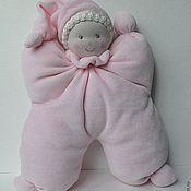 Куклы и игрушки ручной работы. Ярмарка Мастеров - ручная работа Вальдорфская кукла-бабочка. Handmade.