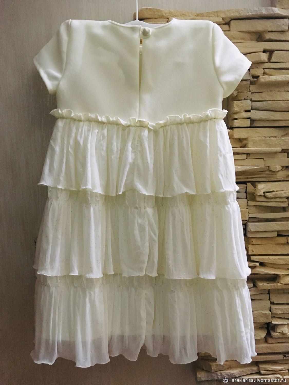 Нарядное платье для девочки Звездочка