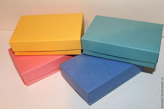 Упаковка ручной работы. Ярмарка Мастеров - ручная работа. Купить Коробочки 30. Handmade. Разноцветный, коробочка для подарка, упаковка для подарка