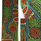 """Картины и панно ручной работы. Ярмарка Мастеров - ручная работа Декоративное панно """"Цветочный орнамент"""". Handmade."""