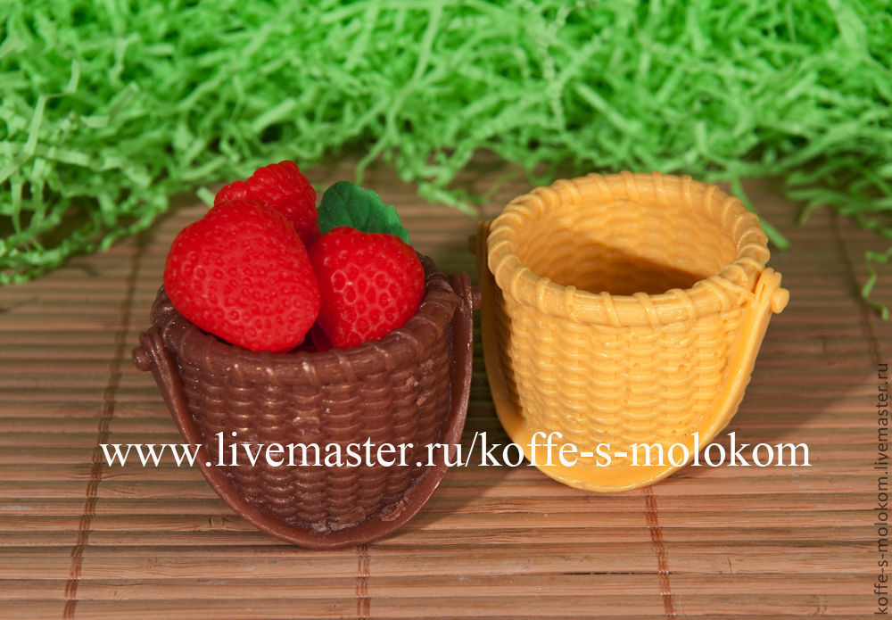 Silicone molds for soap Basket, Form, Moscow,  Фото №1