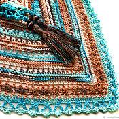 handmade. Livemaster - original item The Bacchus shawl crocheted