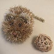 Мягкие игрушки ручной работы. Ярмарка Мастеров - ручная работа Мягкие игрушки: Золотая мышка. Handmade.