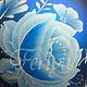 """Новый год 2017 ручной работы. Ёлочный шар """"Зимние цветы"""". Ferlya. Ярмарка Мастеров. Новогодний подарок, елочные игрушки"""