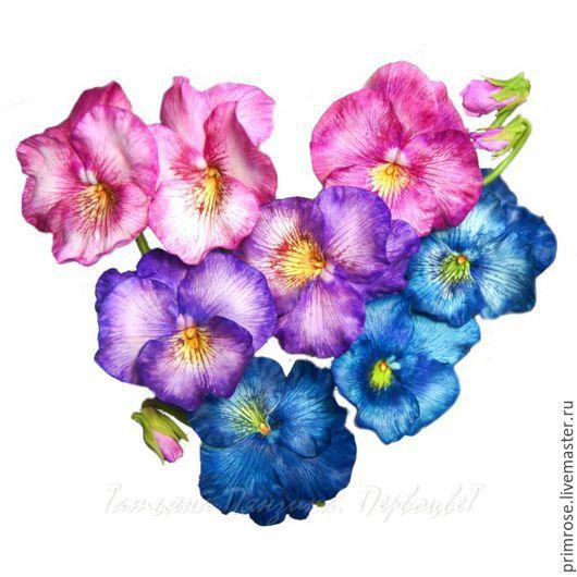 Цветы ручной работы. Ярмарка Мастеров - ручная работа. Купить АНЮТИНЫ СКАЗКИ (цветы. флористическая полимерная глина)). Handmade.