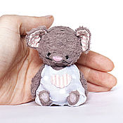 Куклы и игрушки ручной работы. Ярмарка Мастеров - ручная работа Мышь Малыш. Handmade.