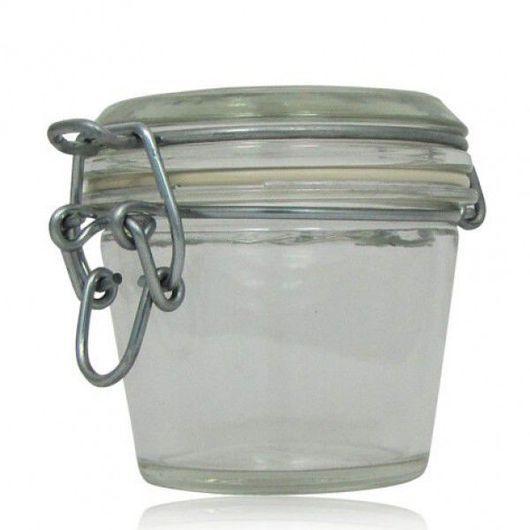 Упаковка ручной работы. Ярмарка Мастеров - ручная работа. Купить Стеклянная баночка (120 мл). Handmade. Тара, флакон, стекло