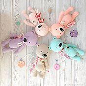 Мягкие игрушки ручной работы. Ярмарка Мастеров - ручная работа Мишка вязанный, конфетный мишка. Handmade.