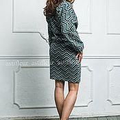 """Одежда ручной работы. Ярмарка Мастеров - ручная работа Теплая юбка """"Малахит"""" из многослойного трикотажа. Handmade."""