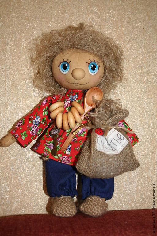 Ароматизированные куклы ручной работы. Ярмарка Мастеров - ручная работа. Купить Домовенок Матвей. Handmade. Домовенок, акриловые краски