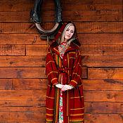 """Одежда ручной работы. Ярмарка Мастеров - ручная работа Пальто """"Вкус брусники"""". Handmade."""