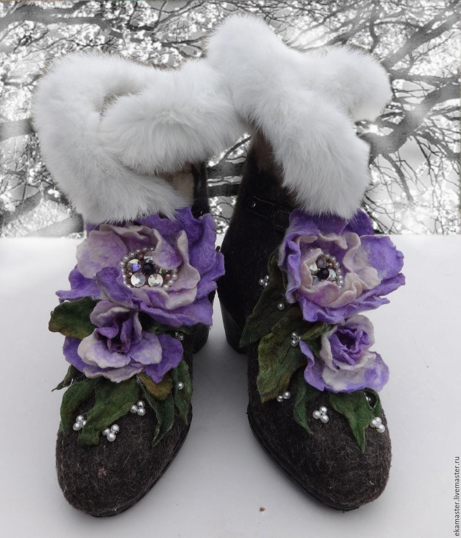 Boots - boots 'Margo', Felt boots, Ekaterinburg,  Фото №1