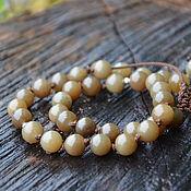 Фен-шуй и эзотерика handmade. Livemaster - original item Jade rosary made of 33 beads and silver. Top-class jade. Handmade.