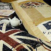 Матрасы ручной работы. Ярмарка Мастеров - ручная работа Напольный матрас для детской Английский флаг Интерьер в стиле Лондон. Handmade.