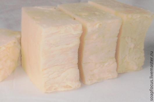Натуральное мыло ручной работы. Мыло с нуля взбитое Топлёное молоко. Молочное мыло.
