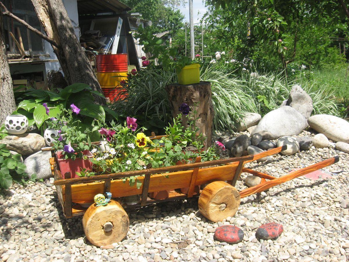 Телега садовая своими руками