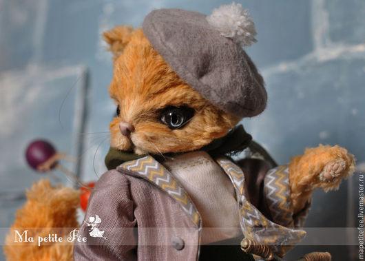 Мишки Тедди ручной работы. Ярмарка Мастеров - ручная работа. Купить Fabrice Le Chat (Фабрис Лё Ша). Handmade.