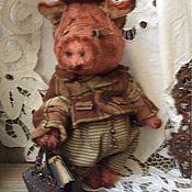 Куклы и игрушки ручной работы. Ярмарка Мастеров - ручная работа Свин. Handmade.