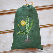 Для дома и интерьера handmade. Livemaster - original item Linen bag