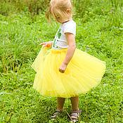 Работы для детей, ручной работы. Ярмарка Мастеров - ручная работа Пышная юбка на праздник Осени. Handmade.