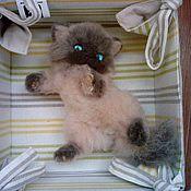 """Куклы и игрушки ручной работы. Ярмарка Мастеров - ручная работа Сиамский котенок """"Тиша"""". Handmade."""