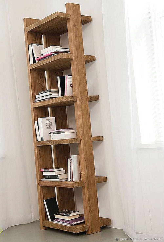 деревнях свято книжные полки из дерева фото можно все совместить
