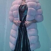 """Одежда ручной работы. Ярмарка Мастеров - ручная работа Меховой жилет-шубка """"Милена"""". Handmade."""
