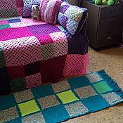 Для дома и интерьера handmade. Livemaster - original item The knitted rug