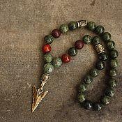 Украшения handmade. Livemaster - original item Mens beads stone - Viking. Handmade.