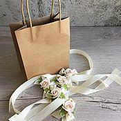 Свадебный салон ручной работы. Ярмарка Мастеров - ручная работа Браслеты для невесты и ее подружек. Handmade.